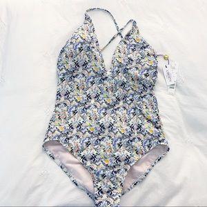 Antonio Melani liberty fabrics ruched swimsuit